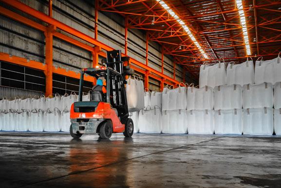 FIBC bag warehouse